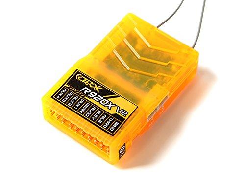 - HobbyKing OrangeRx R920X V2 9Ch 2.4GHz DSM2/DSMX Comp Full Range Rx w/Sat, Div Ant, F/Safe & CP