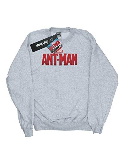 Camisa Logo Entrenamiento Ant Hombre man Marvel Movie Sport De Gris IvnwXanqT