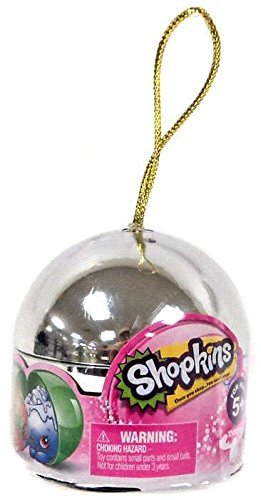 Limited edition exclusive shopkins Christmas 2016 ornament
