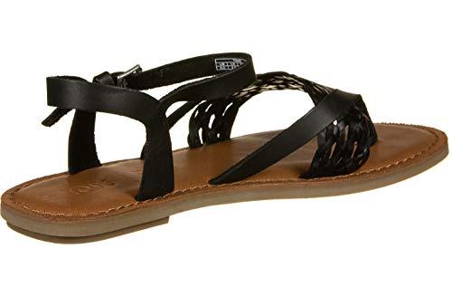 TOMS Women's Lexie Canvas Ankle-High Sandal