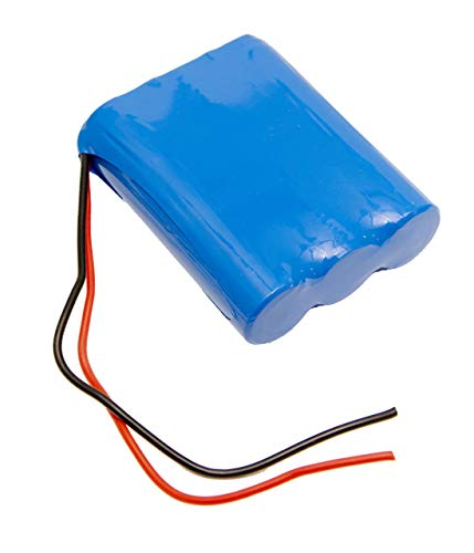 11.1V 3400mAh 3S1P Li Ion Battery Pack PCB Protected