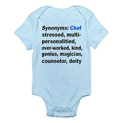 CafePress - Synonyms: Chef Infant Bodysuit - Cute Infant Bodysuit Baby Romper