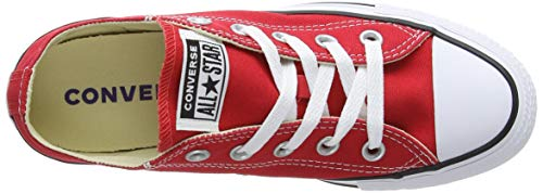 Chuck All Star Baskets Mixte Rouge Adulte Red Basses Ox Taylor Converse UxwdnqECAA