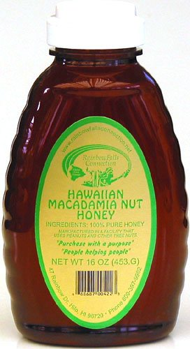 Hawaiian Macadamia Nut Honey, 16-Ounce bottle