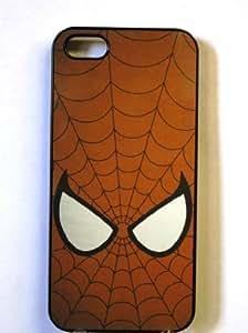 (315bi4) Spiderman Apple iPhone 4 / 4S Black Case