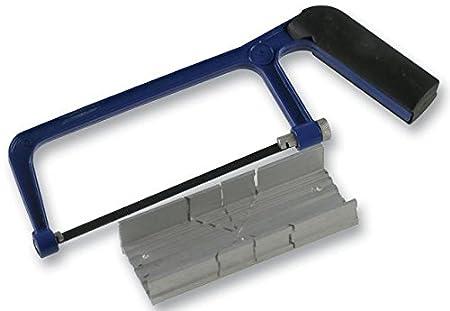New Rolson 58260 Aluminium Junior Hacksaw And Mitre Box