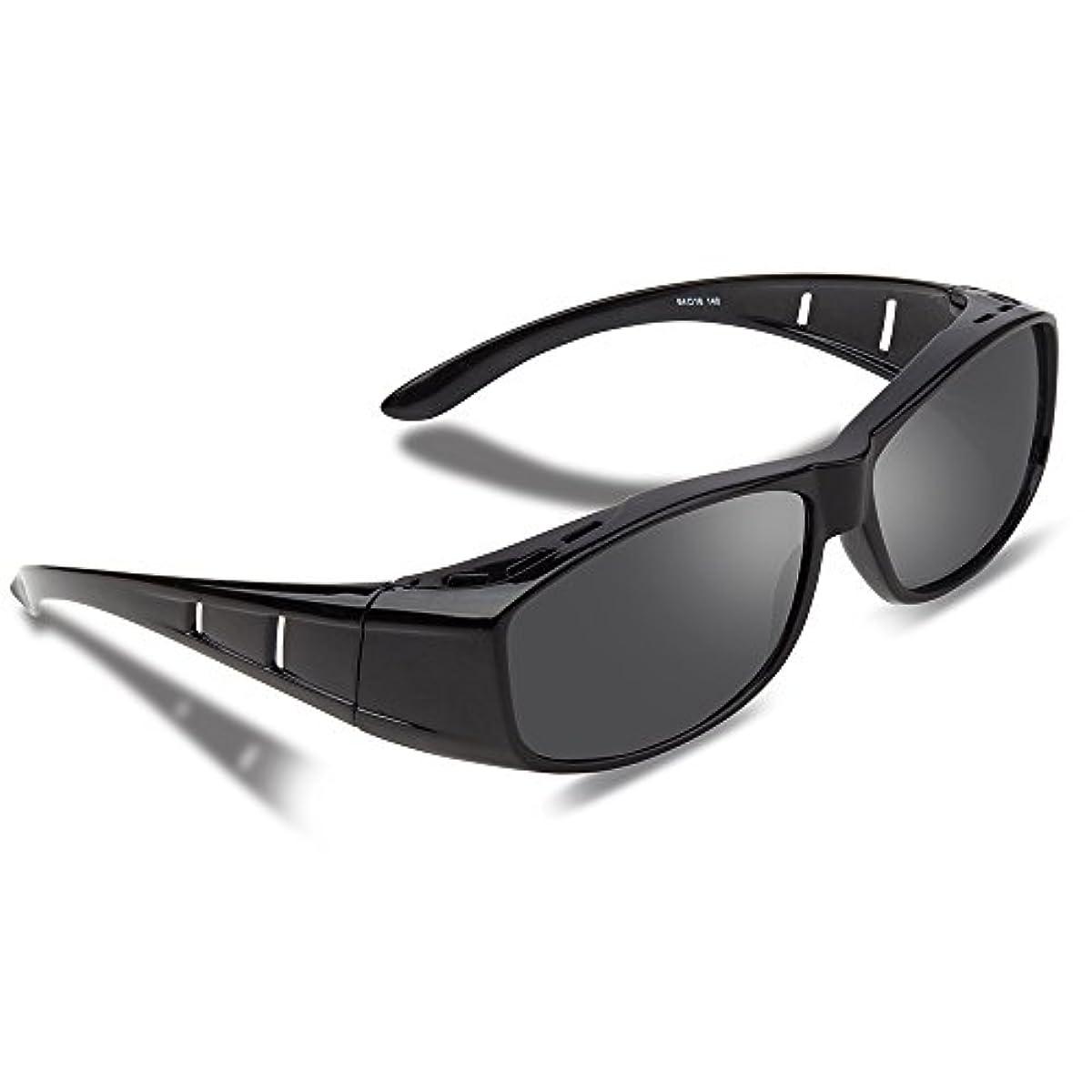 [해외] EWIN®안경의 위로부터 걸린 over썬글라스 편광 렌즈 UV400 자외선 99.9%컷 꽃가루 썬글라스 맨즈 레이디스 겸용