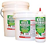 JT Eaton 203 Bedbug and Crawling Insect Powder with Diatomaceous Earth, 7-Ounce bottle (2)