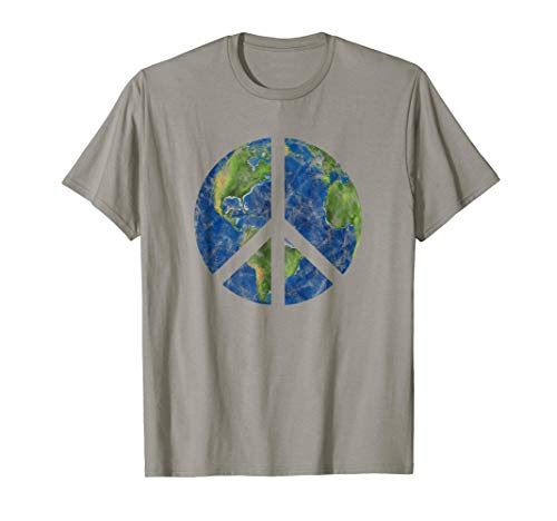 Peace On Earth T-Shirt World Peace ()