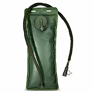 Vbiger 3L Bladder for Hydration Pack Water Bag Great for Hunting Climbing Running and Hiking (Bladder Replacement, One Size)