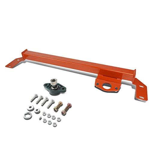 For Dodge Ram 2500 3500 4WD / AWD Mild Steel Steering Gear Box Stabilizer Brace/Bar (Red) -Type 1 (Box Steering Dodge)