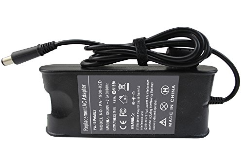 Shareway 90W Replacement AC Power Adapter Battery Charger for Dell PA-10 Inspiron 17R N7010 N7110 500m 710m 6000 6400 8600 9300 9400; Latitude E6410 D610 D620 (Latitude D610 Battery Dell)