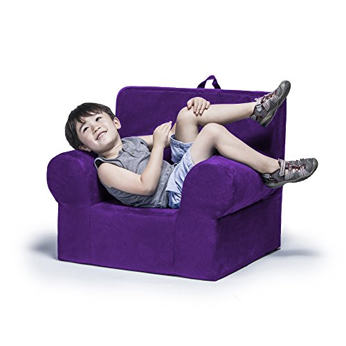 Jaxx Julep Kids Arm Chair, Grape (Pottery Barn Factory Store)