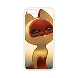 cat russian art iPhone 6 4.7 Inch Cell Phone Case White 53Go-089650