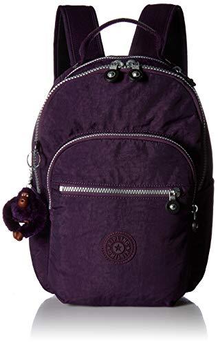 Kipling Seoul GO Small Solid Backpack Deep Purple