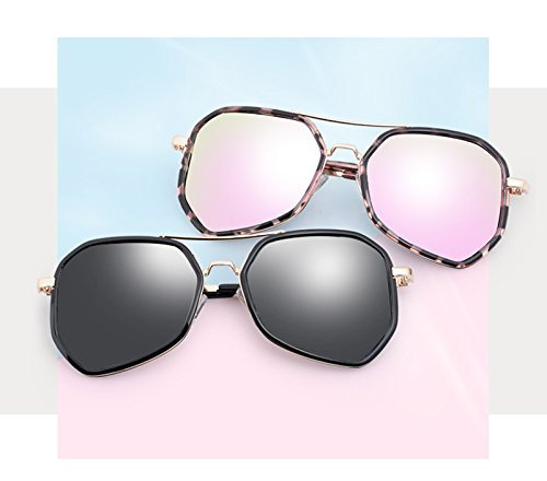 Gafas Dulce Marco Metal Pink De Color sol Gafas de Redondas Anteojos BSNOWF Pink rWBw6Fnrq