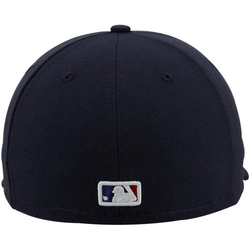 6c7e8aa178b Amazon.com   MLB New Era Chicago Cubs 1912 Throwback Cooperstown On-Field  Performance 59FIFTY Fitted Hat - Navy Blue (7 5 8)   Baseball Caps   Sports    ...