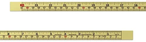 WIN TAPE Workbench Ruler Adhesive Backed Tape Measure – 24 Inches 61 Centimeters Tape Measure (Right to Left – Inches/CM) – The Super Cheap