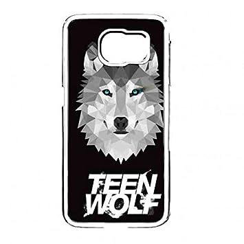 Carcasa Funda Teen Wolf transparente Samsung S6 Carcasa De ...