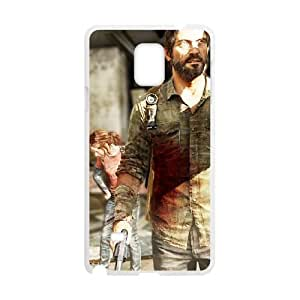 Samsung Galaxy Note 4 Cell Phone Case White The Last of Us Remastered LSO7849597