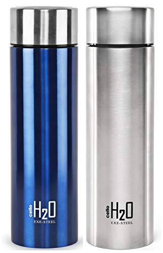 Cello H2O Stainless Steel Water Bottle,