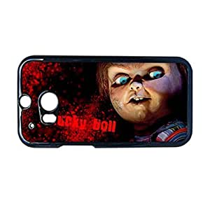 Custom Design With Chucky Doll Plastic Back Phone Case For Guys For Htc One M8 Choose Design 1