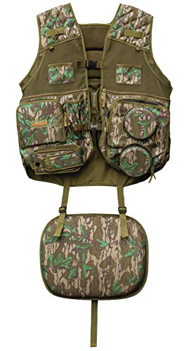 Primos Gobbler Vest, Mossy Oak Greenleaf, Medium/Large