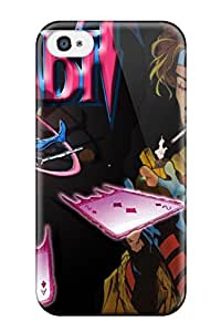 Hot New Gambit X Men Case Cover For Iphone 4/4s With Perfect Design