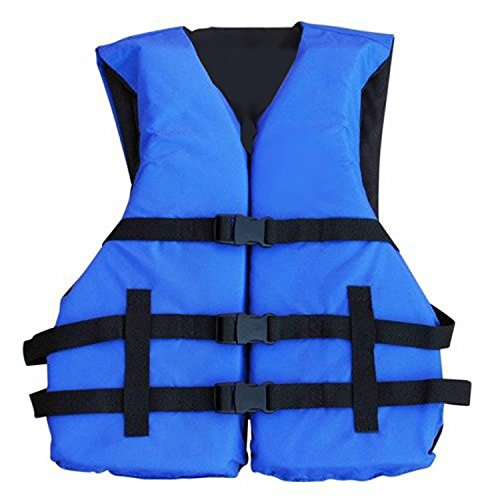 Skiing Life Water Jackets (Hardcore Water Sports Basic Coast Guard Approved Life Jacket By (Blue))