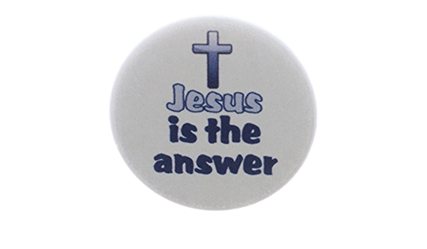 """1.25/"""" OR 2.25/"""" Pinback Button Badge JESUS CHRIST  Set of 7 SELECT SIZE 1/"""""""