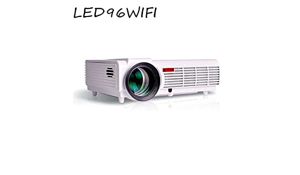 2017 proyector LED96 Wifi Android inteligente LED 96 Proyector de ...