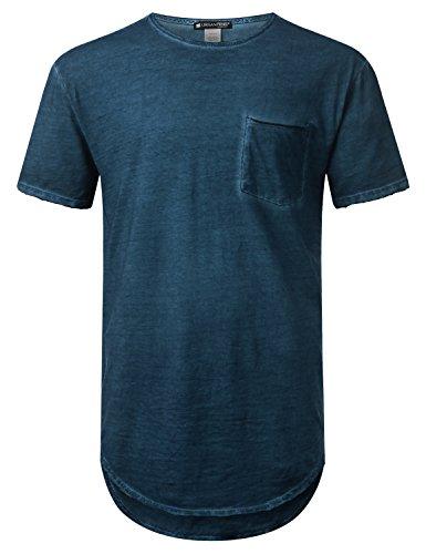 URBANCREWS Hipster Lightweight Longline T shirt product image