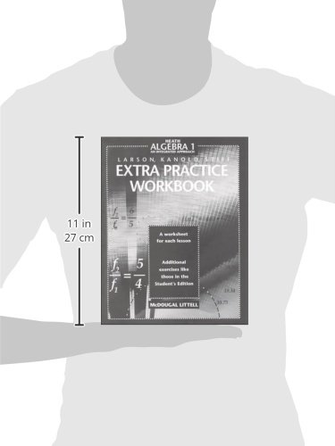 Amazon.com: McDougal Littell High School Math: Extra Practice ...