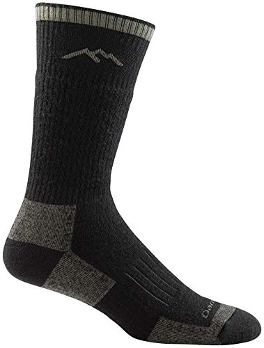 Darn Tough Hunter Boot Sock Full Cushion - Charcoal Large -
