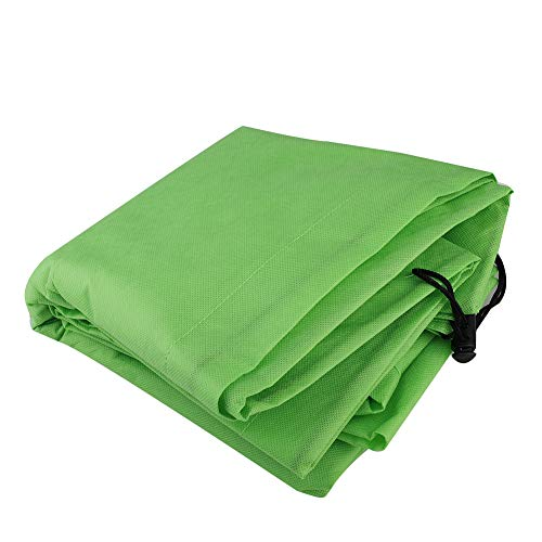 Alapaste 2pack Plant Cover for Freeze Protection-2.5oz Fabric Warm Worth Frost Blanket 39″x39″ Shrub Jacket with Double Drawstrings for Season ExtensionFrost Protection
