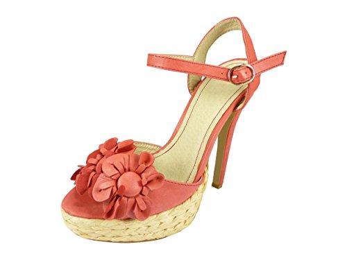 Chaussmaro sandalias Chaussmaro Rojo mujer sandalias rojo vxUPRx