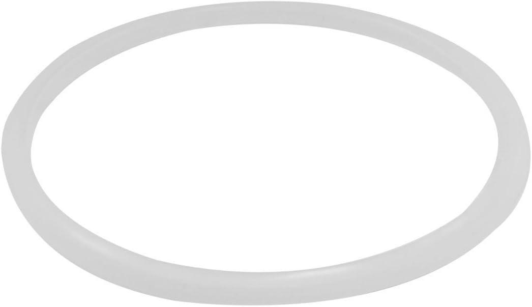 Bigpea 26 cm inner rubber seal gasket for pressure cooker white