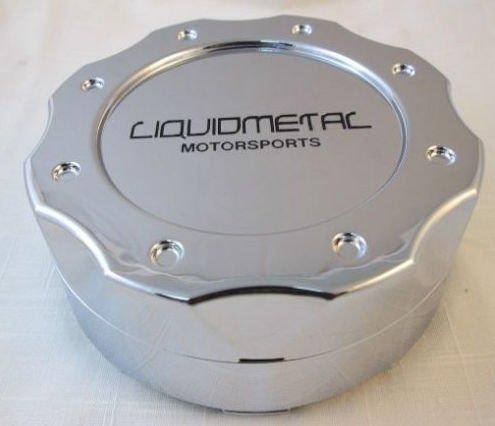 Liquid Metal Chrome Custom Wheel Center Cap Set of 4 Pn: BC-671 Short by Liquid Metal (Image #2)