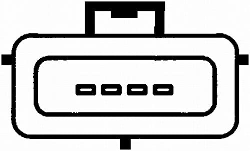 HELLA 8ET 009 142-161 Luftmassenmesser Rohrstutzen mit Dichtung