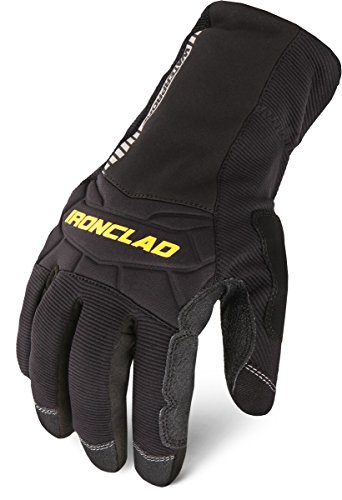 Ironclad CCW2-04-L, Cold Condition Waterproof 2, Black, L