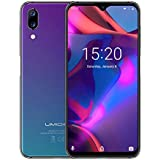 "UMIDIGI One Max Factory Unlocked Smartphone, 4GB/128GB, 4150mAh Big Battery, 6.3"" Waterdrop Full Screen, 12MP + 5MP Dual Camera,Dual SIM, Android 8.1 Cellphones,Wireless Charge & NFC Support(Twilight)"