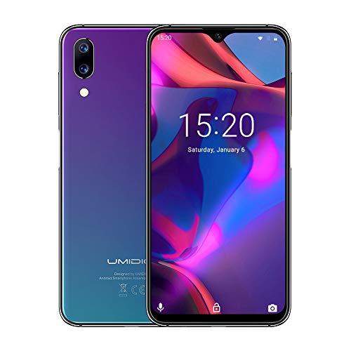 UMIDIGI One Max Factory Unlocked Smartphone, 4GB/128GB, 4150mAh Big Battery, 6.3