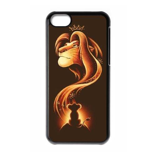 Disney Le Roi Lion Caractère Rafiki WB03UB1 coque iPhone Téléphone cellulaire 5c cas coque I6KK3Z8JM