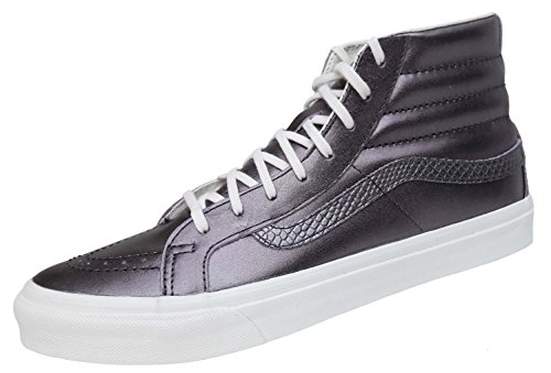 Vans Sk8-Hi Slim, Scarpe da Ginnastica, Donna, (Metallic) Thiste Purple (metallic purple)