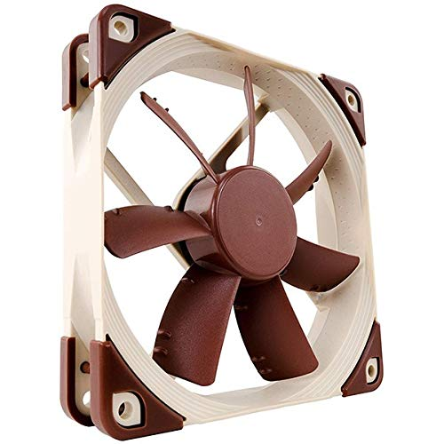 Noctua NF-S12A PWM, Premium Quiet Fan, 4-Pin (120mm, Brown) ()