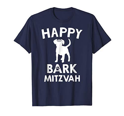 Bark Mitzvah T Shirt   Jewish Dog Lover Bar Mitzvah T-Shirt