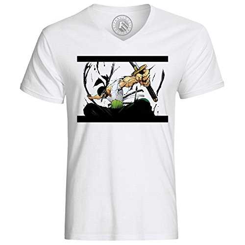 Roronoa Zoro T-Shirt Head Hunter One Piece Manga Anime