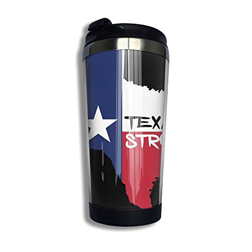 Texas Strong Stainless Steel Coffee Mug Travel Tumbler Cup Coffee Cups Photo Mug Best Gift by Xieshengwu