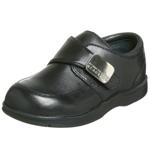 Kenneth Cole REACTION Tiny Flex Monk Strap Slip-On (Infant/Toddler),Black,7.5 M US Toddler