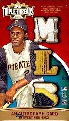 (2013 Topps Triple Threads Baseball MINI BOX (1 pk))